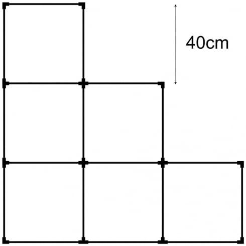 40cm cube kit 2 (acrylic cube system)