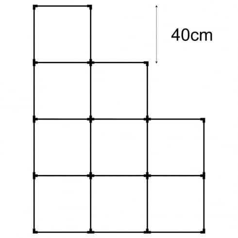 40cm cube kit 3 (acrylic cube system)