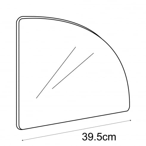 40cm curved panel (storage cube system)