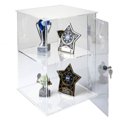 40cm display case: lockable-counter