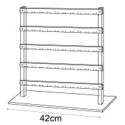 40cm ladder: all types of earrings (acrylic earring displays)