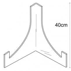 40cm plate stand: heavy duty (plate stands & shop equipment)