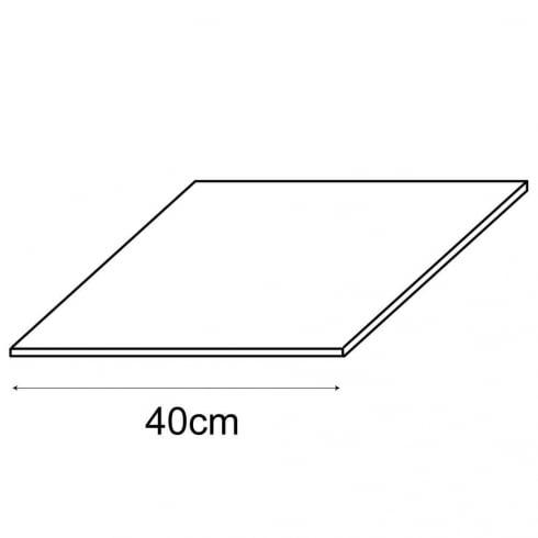 40cm shelf panel (storage cube system)