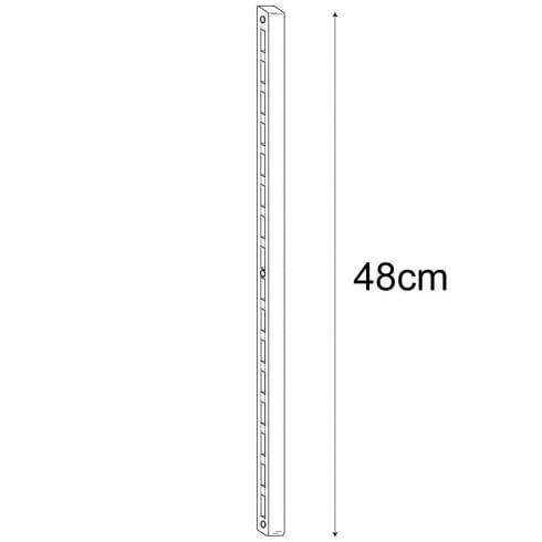 48cm wallstrip (wall strip shelving system)