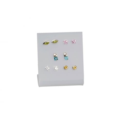 5 pair stud display (acrylic jewellery & earring display)