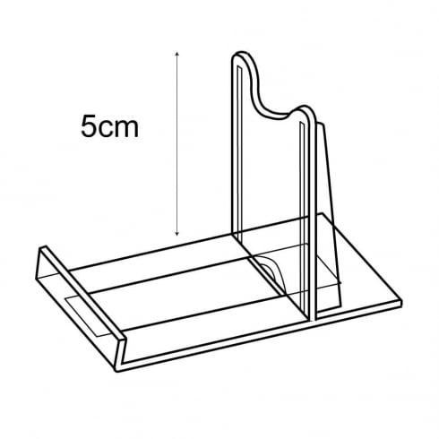 5cm adjustable support: pack of 10 (retail display & shop equipment)