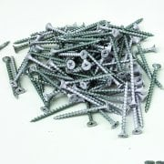 5cm Groovewall fixing screws: pack of 100 (slatwall: shop fittings)