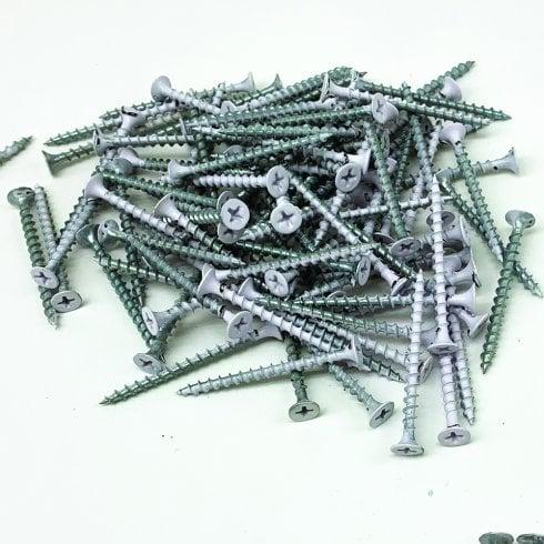 5cm Groovewall fixing screws x100