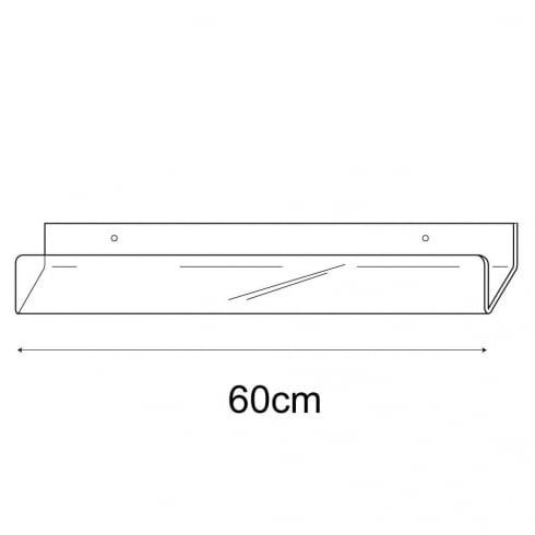 60cm card rack-wall (acrylic card rack)