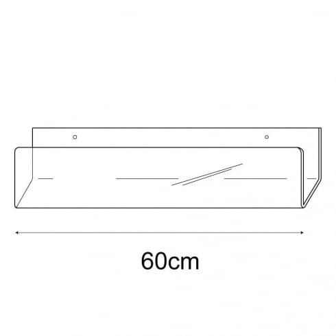 60cm deep card rack-wall (acrylic card rack)