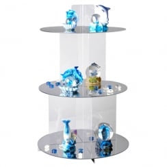 60cm shelf cascade (cake stand 7 cake display)
