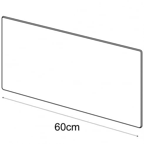 60cmx30cm polished panel (acrylic panels)