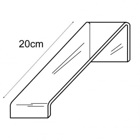 6cm sloping shoe platform (acrylic shoe stand)