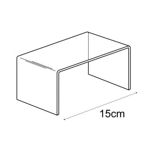 7.5cm lift (acrylic lifts & risers)