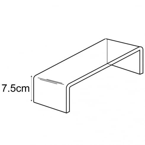 7.5cm platform (acrylic display platforms)