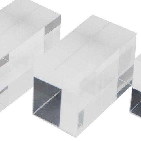 7.5cm solid plinth (solid acrylic plinth)