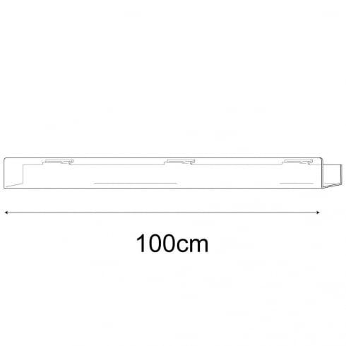 7cmx100cm multi media shelf-slatwall (slatwall acrylic shelf)