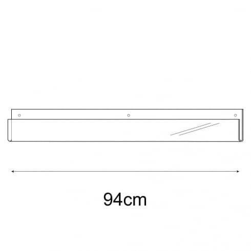 94cm exhibition card rack-wall (acrylic card display)