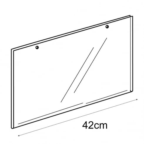 A3 landscape sign holder-hanging (PVC sign holder)