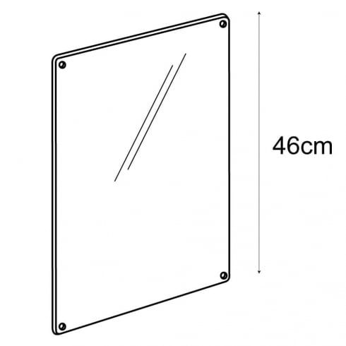 A3 sign panel-wall (acrylic sign holder)