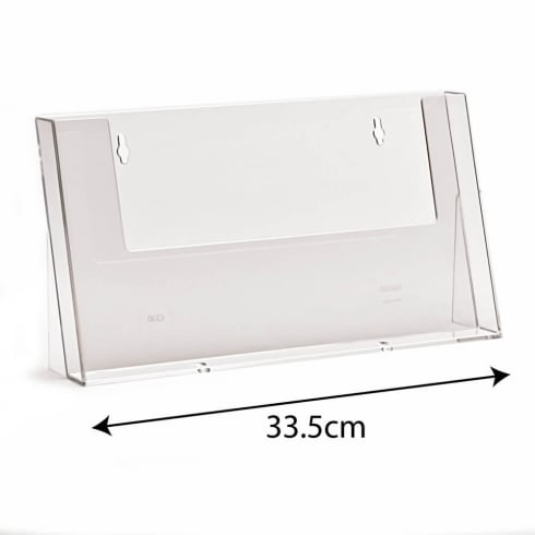 A4 landscape leaflet holder-counter (brochure & leaflet holders)