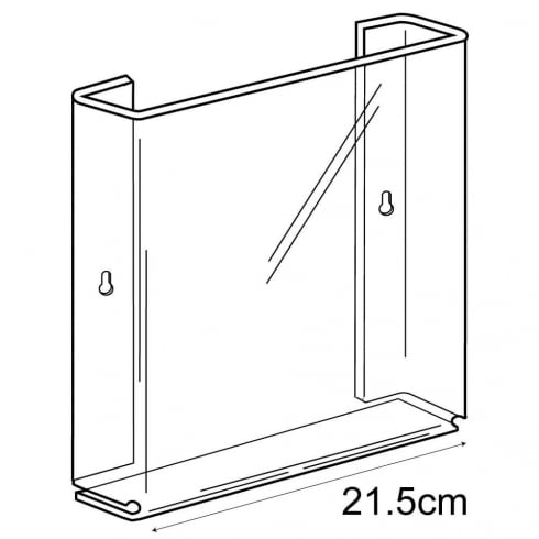 A4 leaflet holder-wall (acrylic brochure holders)