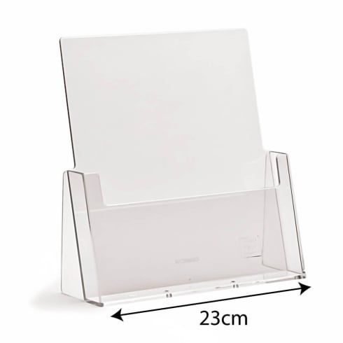 A4 portrait leaflet holder-counter (brochure & leaflet holders)