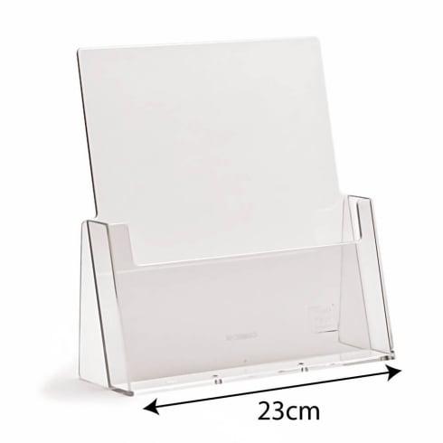 A4 portrait leaflet holder-counter (brochure & leaflet holders)
