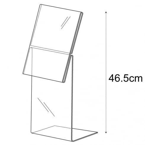 A4 sign holder-mattress (acrylic sign holder)