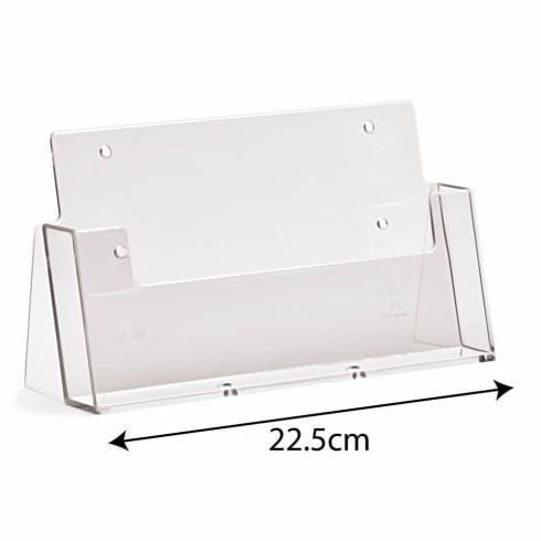 A5 landscape leaflet holder-counter/wall (brochure & leaflet holders)