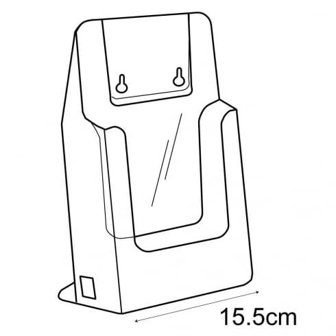 A5 leaflet holder-counter/wall (leaflet & brochure holders)