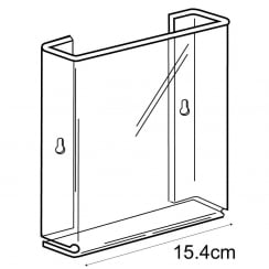 A5 leaflet holder-wall (acrylic brochure holders)