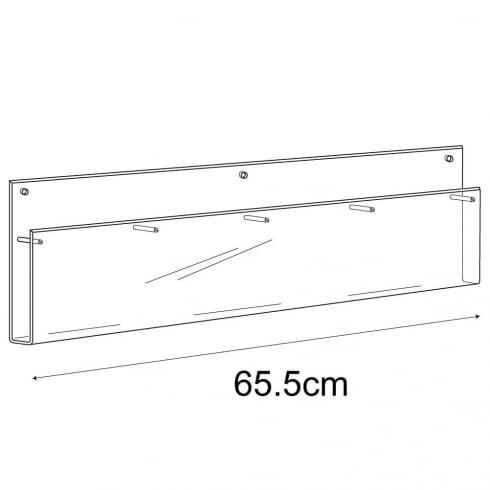 A5 multi leaflet holder-wall (acrylic brochure holders)