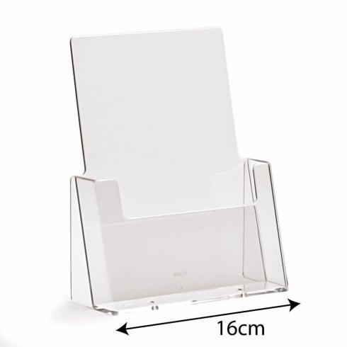 A5 portrait leaflet holder-counter (brochure & leaflet holders)