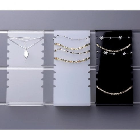 Anklet/bracelet display-slatwall/wall