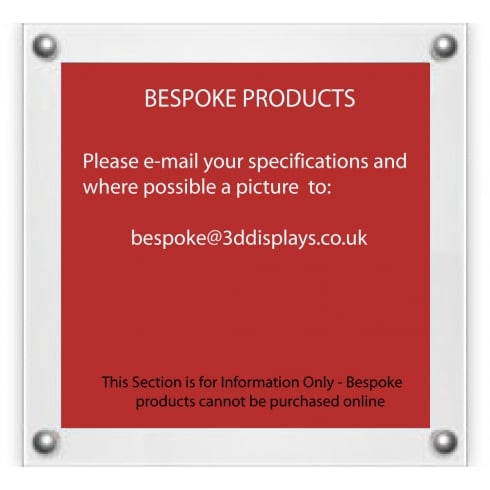 Bespoke Displays and Point of Sale Equipment
