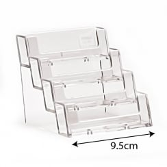 Business card holder: 4 tier (business card holders)
