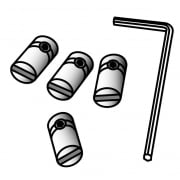Cable-to-sign connector: pack of 4 (shop equipment extras)
