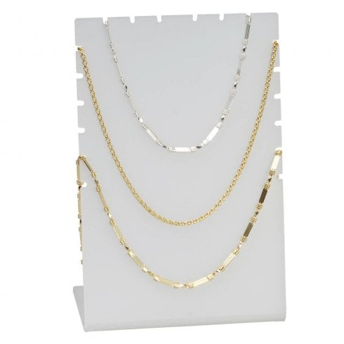 Chain display: multiple (acrylic jewellery display)