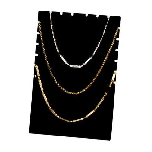 Chain display: multiple (acrylic jewellery display)