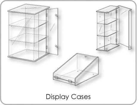Display Cases & Cabinets