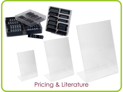 Pricing & Signholders