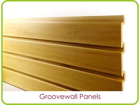 Slatwall display boards