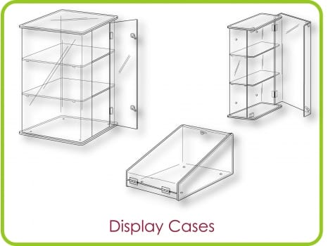 Lockable Show Cases
