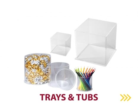 Trays and Tubs