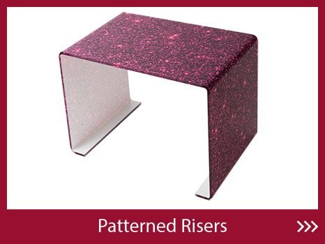 Patterned Risers