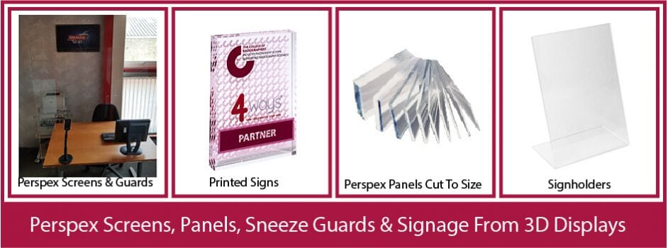 Perspex Safety Panels