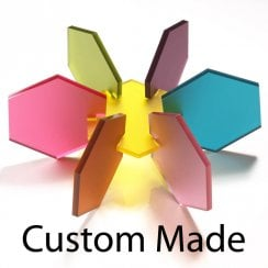 Custom made perspex displays and acrylic products