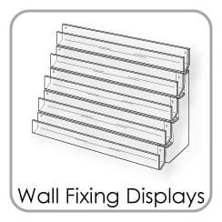 Wall Fixing Card Displays