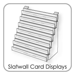 Slatwall Card Displays